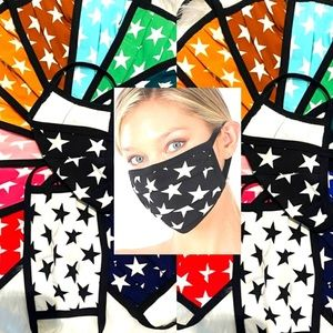 BOGO!!! Two Bright and Colorful Star Masks